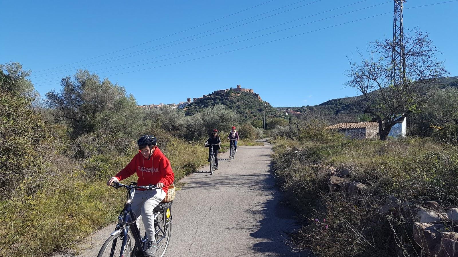 e-bike excursions in Villafamés, Castellón, Spain