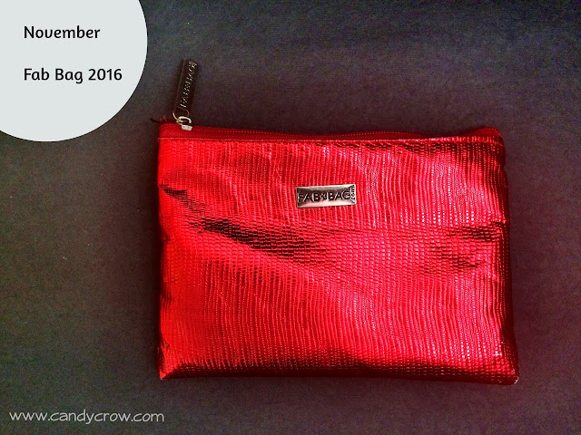 Fab Bag November 2016 Review