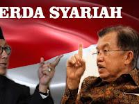 Menag : Tak Ada Istilah Perda Syariah itu.!, ini Tanggapan Wapres Jusuf Kalla