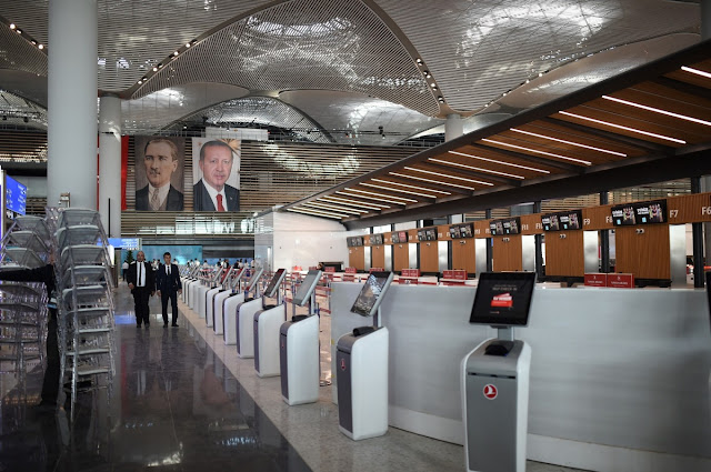 Presiden Turki Erdogan Meresmikan Bandara Istanbul Baru yang Diklaim Jadi Terbesar Didunia