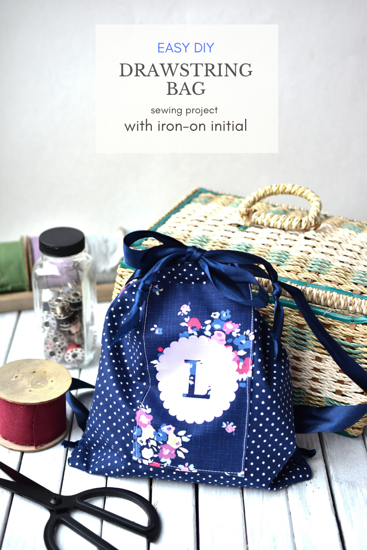 Easy DIY Drawstring Bag Sewing Project and 5 Things I Love About My Cricut Maker