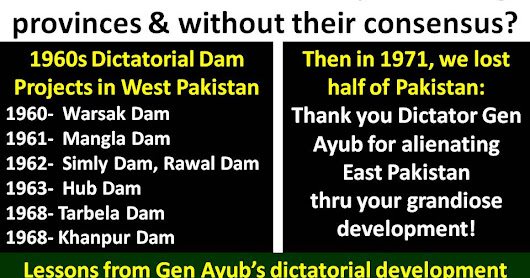 Lesson from Decade of Development of Dictator Gen Ayub Khan