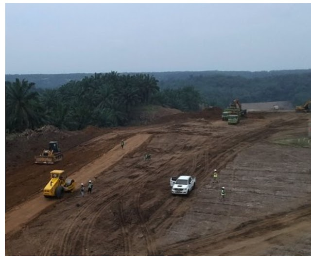 Ini Dia Penampakan Dimulainya Pembangunan Jalan Tol Tebing Tinggi - Parapat