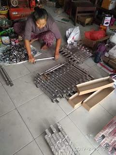 Pusat produksi pengrajin handle pintu juwana mahakam stainless