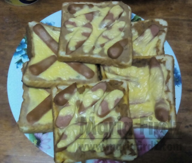 Menu Sarapan | Mini Pizza dari Roti Gardenia