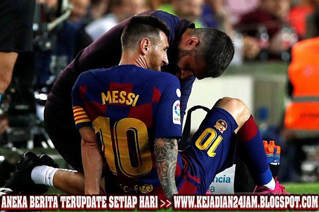 Pelatih Barcelona Jelaskan Kondisi Yang Dialami Messi