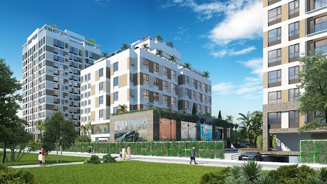 Phối cảnh dự án chung cư Valencia Garden Long Biên