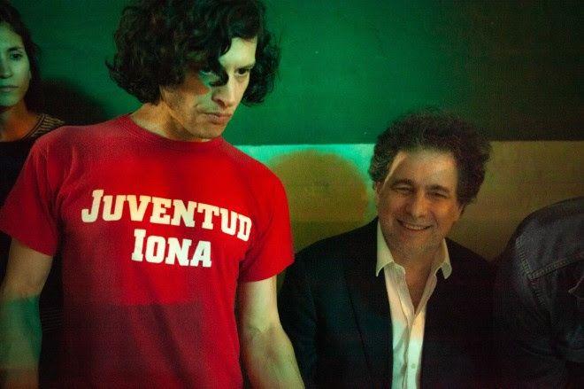 """Andrés Calamaro y Luis Ortega se unieron para grabar el video """"Tránsito lento"""""""