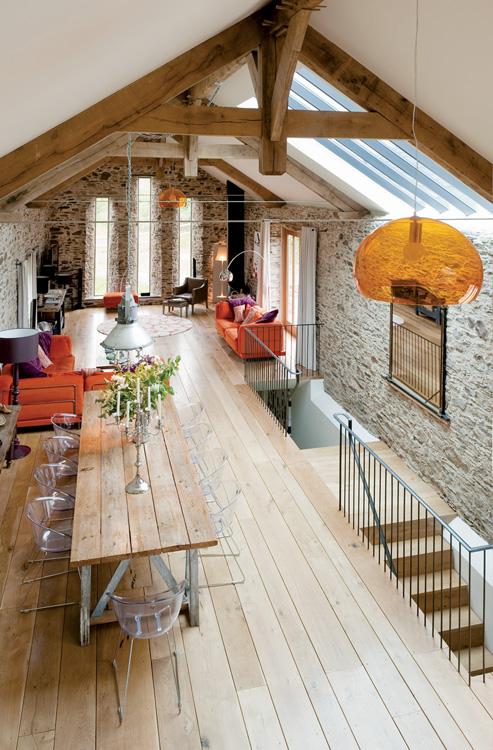 finished attics ideas - Eliane Sampaio Interiores MODERNAS CASAS DE CAMPO ANTIGAS