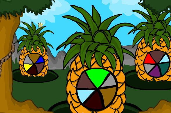 Kidzee Online Games Fruits Land Escape