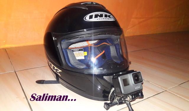 Review Helm INK CL MAX M Untuk Motovlog