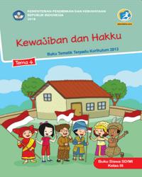 Buku tema 4 Siswa Kelas 3 K13 2018
