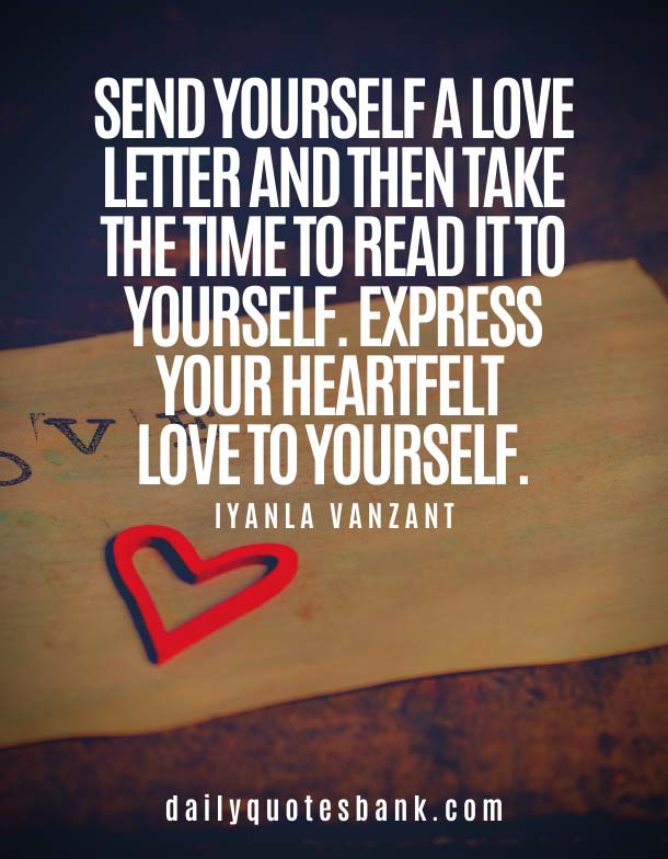 You Have To Love Yourself First Quotes