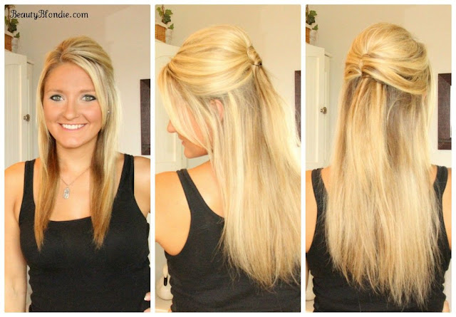 Long Straight Wedding Hairstyle For Long Hair