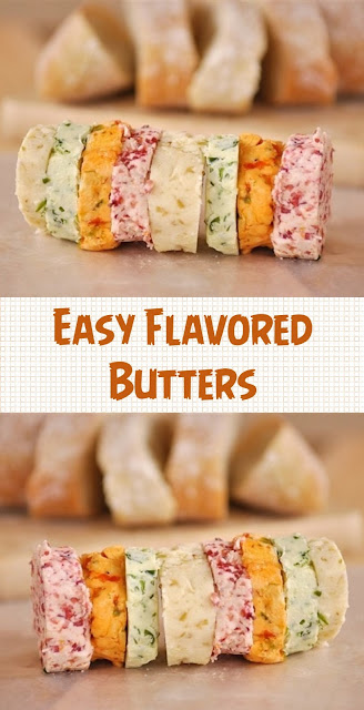 Easy Flavored Butters