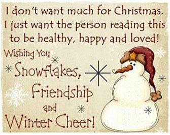 I Dont Want Anything For Christmas.I Don T Want Much For Christmas Quotes And Sayings