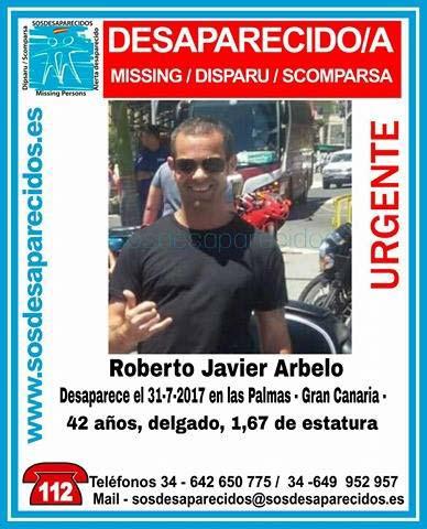 Hombre desaparecido  en Las Palmas de Gran Canaria, 31 de julio