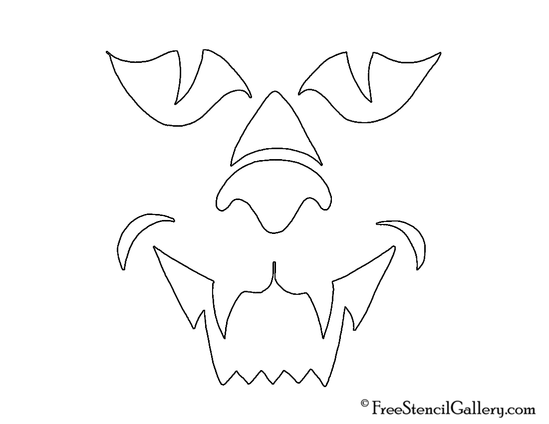 The gallery for --> Jack O Lantern Stencils Free Printable