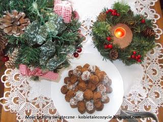 Praliny, świąteczne wypieki, praliny świąteczne, zdrowe słodkości na świeta, świąteczne słodycze, domowe wypieki na święta bożegonarodzenia