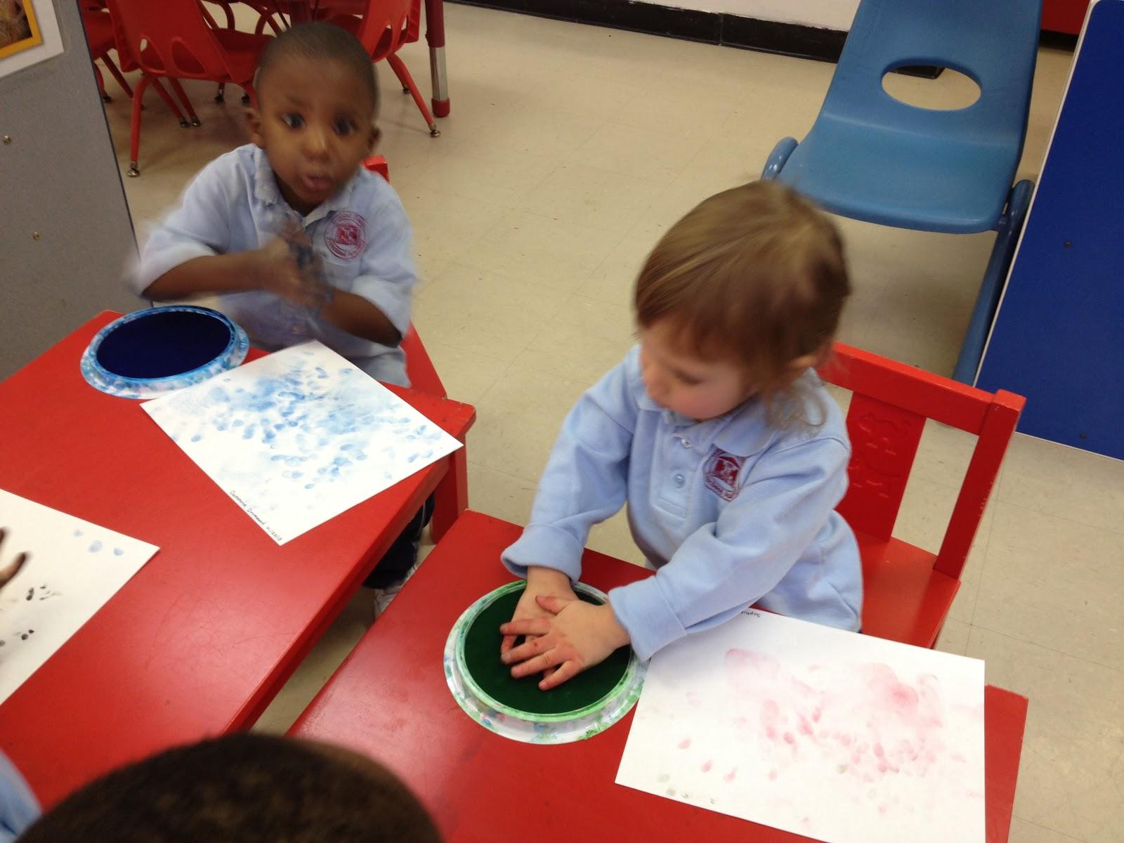 Hh Preschool Class Reflections Stamp Pad Art Activity