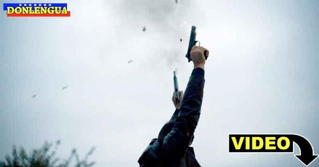 Policía de Apure dispersa a tiros a las personas que buscan gasolina
