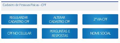 Receita Federal amplia serviços relativos ao CPF a distância para contribuintes do estado de SP
