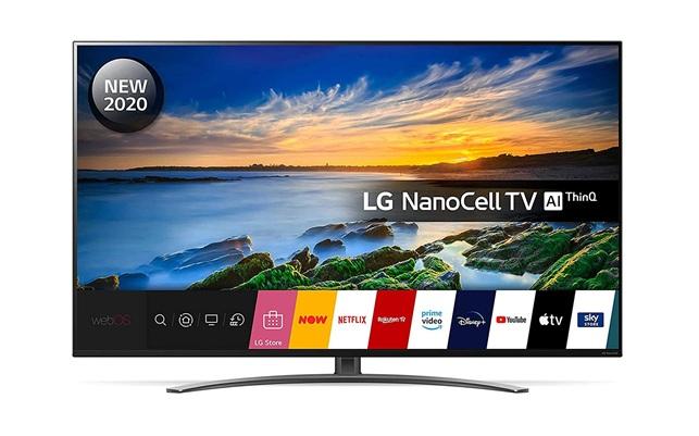 LG 55NANO816NA: Smart TV 4K de 55'' con control por voz y tecnología NanoCell