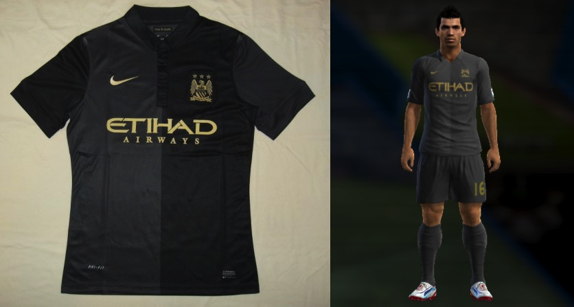 7fb5de9b20 Edit PES Xbox  Uniforme Manchester City 13 14
