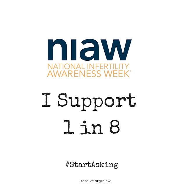 #StartAsking National Infertility Awareness Week