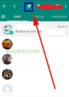 apa arti chat disematkan