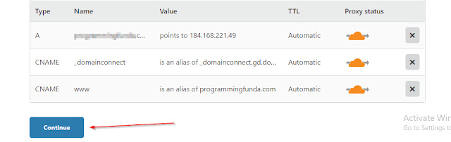 How to Setup CloudFlare CDN to Blogger Blog