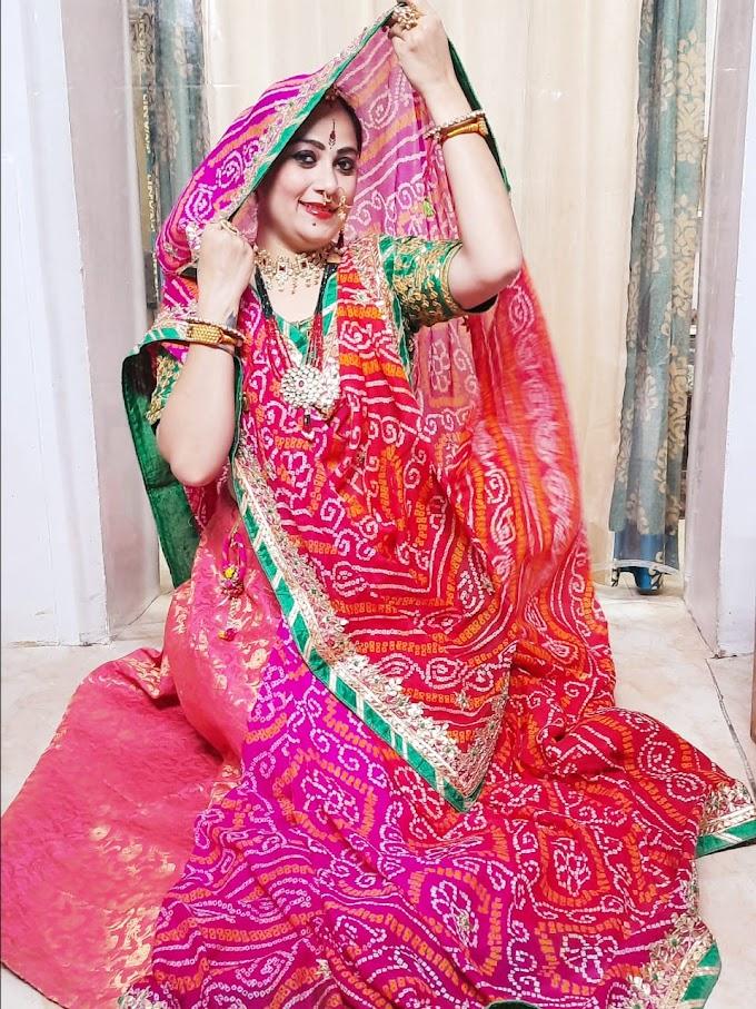 ऑनलाइन ब्यूटी पेजेंट-- जयपुर की मीनाक्षी गॉडविन ने क्लासिक कैटेगरी में 5 टाइटल जीते