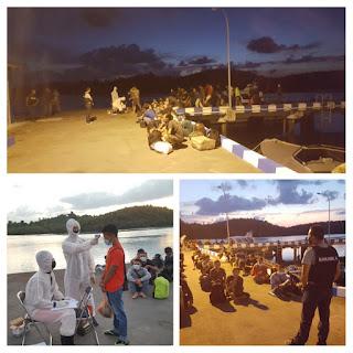 Masuk Lewat Pelabuhan Tikus,47 TKI Diamankan Bakamla RI