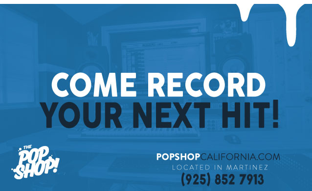 Record Your Next Hit at The Pop Shop