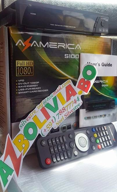 AzBolivia: AzAmerica S1001 HD IPTV 3D WiFi 3G IKS SKS DLNA