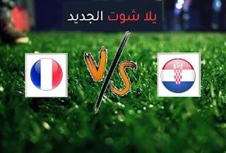 نتيجة مباراة فرنسا وكرواتيا اليوم الاربعاء بتاريخ 14-10-2020 دوري الأمم الأوروبية