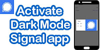 How to Enable Dark Mode on Signal App?