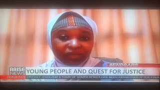 Nigerians Drag Arise TV For Allegedly Cutting Off Aisha Yesufu After She Insulted President Buhari