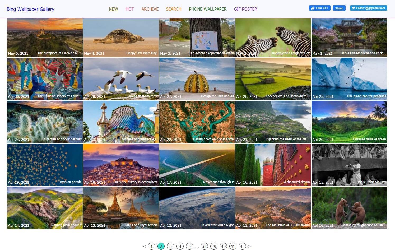 Cara Install Bing Daily Wallpaper