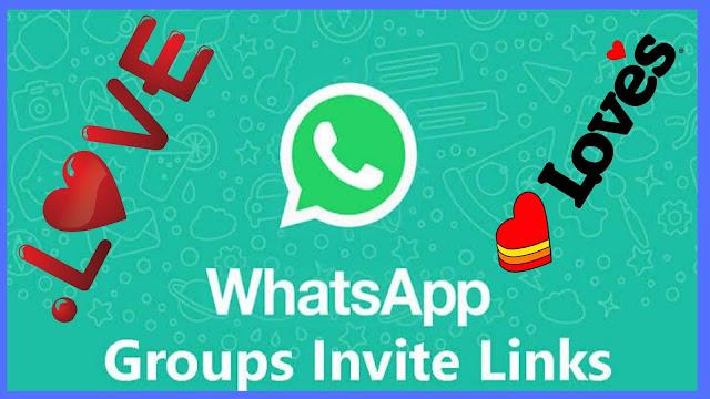 Latest Love Whatsapp groups Links Updated