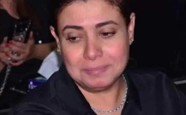 تدهور حالة الفنانة نشوى مصطفى داخل مستشفى العزل