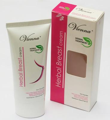 Vienna Breast Cream Original Terbaru Krim Pembesar dan Pengencang Payudara BPOM