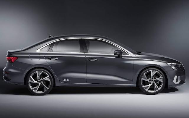 Novo Audi A3 Sedan 2021 - lateral