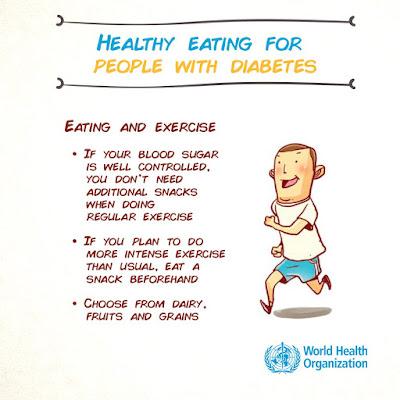 pola hidup sehat untuk pasien diabetes