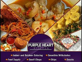 Purple Heart Kitchen is a food company that render indoor and outdoor catering services.