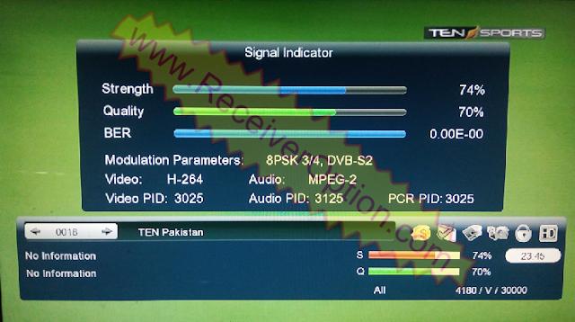 GX6605S HW203 00 012 TYPE HD RECEIVER TEN SPORTS OK NEW
