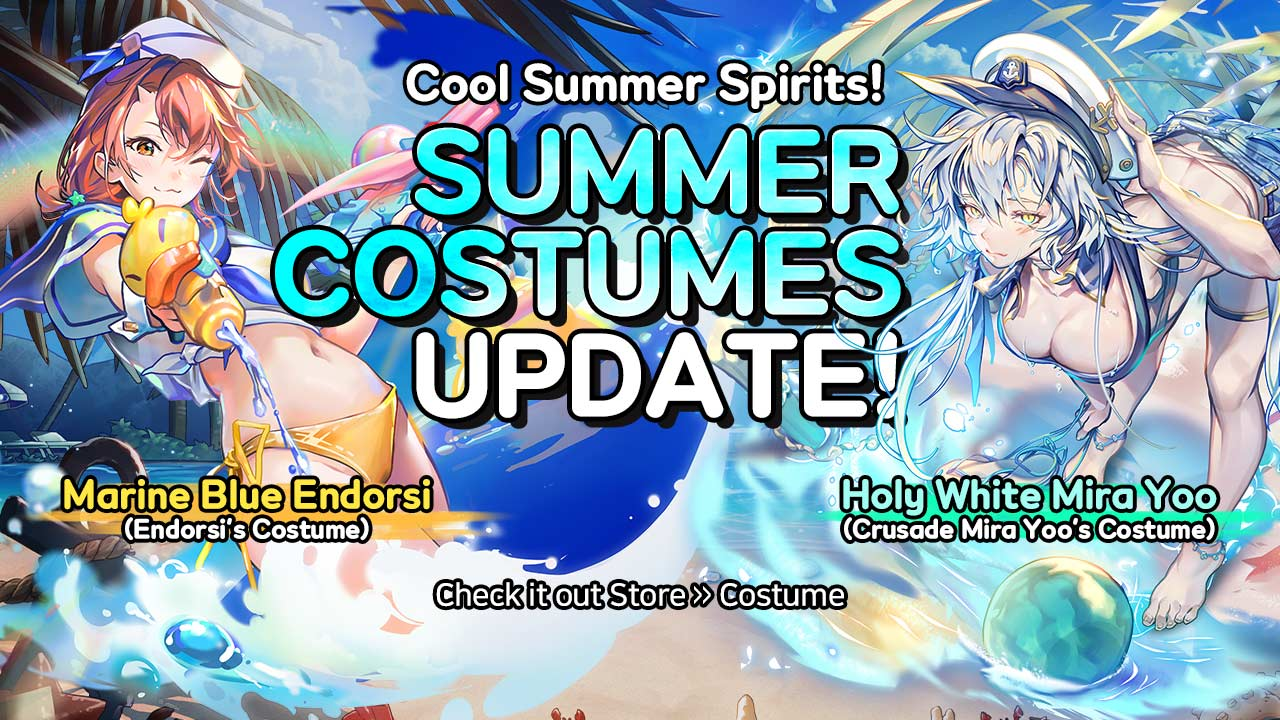 Hero Cantare summer Costumes