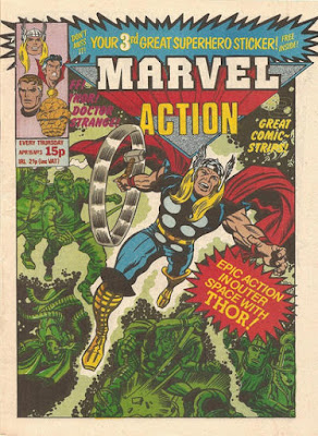 Marvel Action #3, Thor