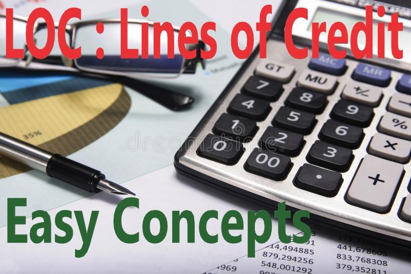 LOC : Lines of Credit