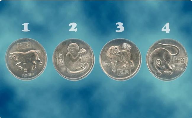 Выбери монету и узнай, что ждет тебя в будущем. Тест-предсказание